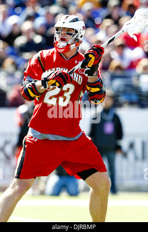Mar. 06, 2010 - Baltimore, Maryland, U.S - 06 March 2010: Maryland Attack Will Yeatman #23 action during the Duke - Stock Photo