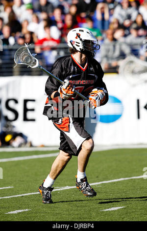 Mar. 06, 2010 - Baltimore, Maryland, U.S - 06 March 2010: Princeton Attack Rob Engelke #22 in action during the - Stock Photo