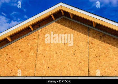 New single family home wood framing virginia usa stock for Wood frame house in florida