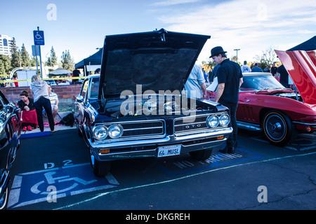 1965 pontiac gto at car show stock photo royalty free for Woodland motors used cars