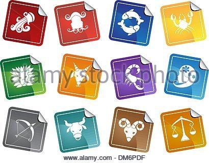 Zodiac Symbols - Stock Photo