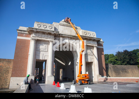 first world war memorial place at the river somme where thiepval stock photo royalty free. Black Bedroom Furniture Sets. Home Design Ideas