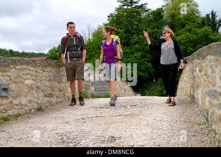 El Camino de Santiago De Compostela in French Pyrenees ...