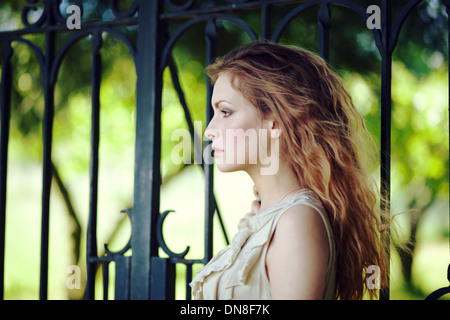 Portrait of young woman - Stockfoto