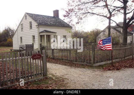 Old Bethpage Village restoration on Long Island NY - Stock Photo