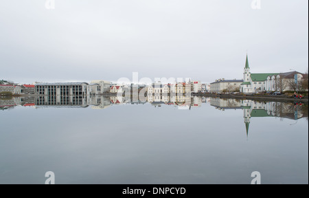 Reykjavik, Iceland - Stock Photo