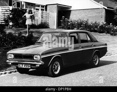 1969 Hillman Hunter GT - Stock Photo