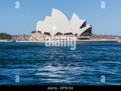 Sydney Opera House in Circular Quay, Sydney, Australia - Stock Photo