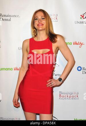 West Hollywood, California, USA. 9th Jan, 2014. Maitland Ward at arrivals for 5th Annual Los Angeles Unbridled Eve - Stock Photo