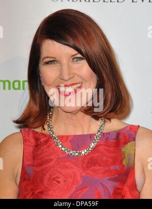 West Hollywood, California, USA. 9th Jan, 2014. Kate Flannery at arrivals for 5th Annual Los Angeles Unbridled Eve - Stock Photo