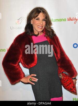 West Hollywood, California, USA . 9th Jan, 2014. Kate Linder at arrivals for 5th Annual Los Angeles Unbridled Eve - Stock Photo