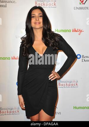 West Hollywood, California, USA . 9th Jan, 2014. Camila Banus at arrivals for 5th Annual Los Angeles Unbridled Eve - Stock Photo