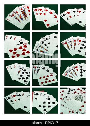 Standard poker hands