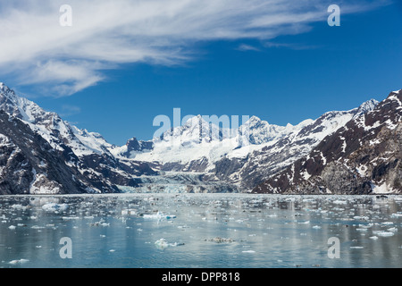 Johns Hopkins Inlet, Glacier Bay, Alaska. - Stock Photo