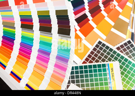 Pantone color swatch book Stock Photo: 52522441 - Alamy