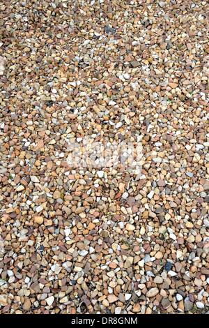 A close up shot of gravel rocks - Stock Photo