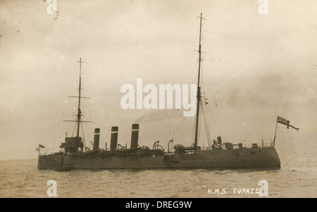 HMS Topaze - Stock Photo