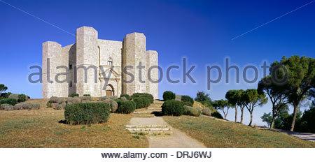 castel del monte, andria, apulia, italy, europe - Stock Photo