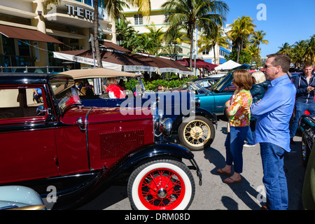 Miami Beach Florida Antique Show visitors exhibitors