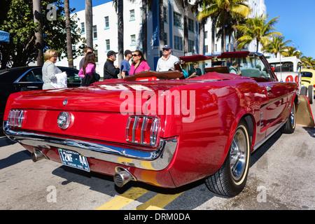 Miami Beach Florida Antique Show Visitors Exhibitors