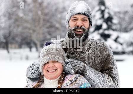 Winter Fun - Stock Photo