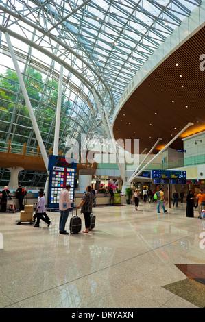 Kuala Lumpur International Airport, KLIA, Malaysia, Südostasien - Stock Photo