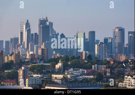 Skyline of Sydney, New South Wales, Australia, Pacific - Stock Photo