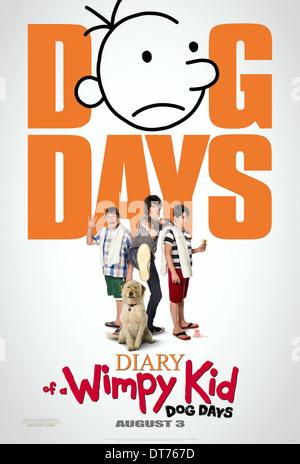 devon bostick diary of a wimpy kid dog days 2012 stock