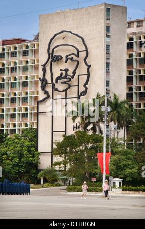 Revolution Square, Havana, Cuba - Stock Photo