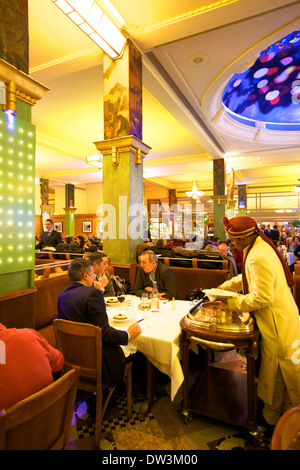 La Coupole Restaurant, Paris, France, Western Europe. - Stock Photo