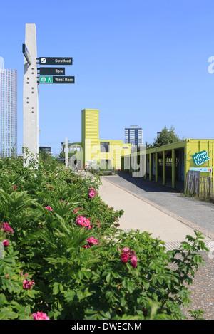 Cafe Olympic Park Stratford