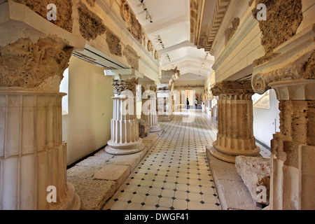 Temple of Asklepios Epidaurus Peloponnese Greece Stock ...