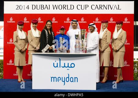 Dubai, UAE. 8th March, 2014. Sheikh Mohammed Bin Rashid Al ...
