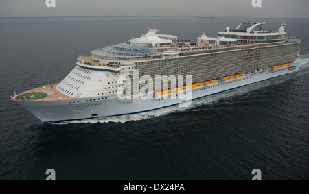 Royal Caribbean Cruise Ship Oasis Of The Seas Is Docked At Stock Photo Royal