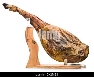 how to cut a leg of ham