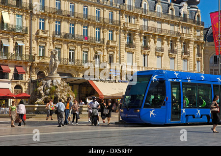 Place de la Comedie, Montpellier - Stock Photo
