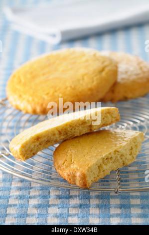 Shortbread cookies - Stock Photo