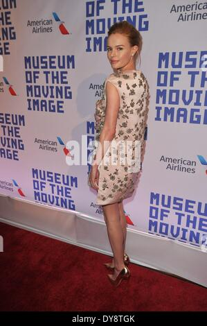 New York, NY, USA. 9th Apr, 2014. Kate Bosworth at arrivals for Museum of the Moving Image 28th Annual Salute to - Stock Photo