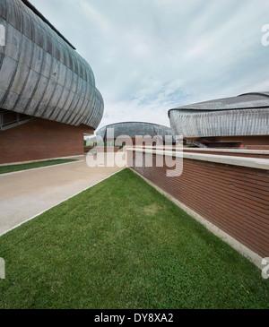 Auditorium Parco della Musica, Rome, Italy - Stock Photo