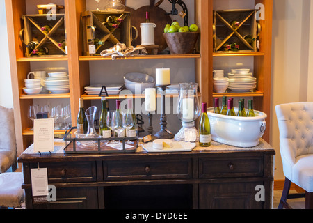 Pottery Barn Store Interior Stock Photo Royalty Free