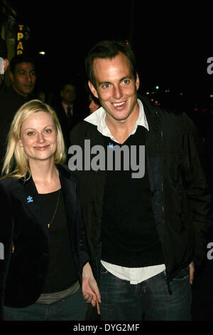 April 16, 2014 - WILL ARNETT is officially ending his marriage to AMY POEHLER. Arnett, 43, filed divorce papers - Stock Photo