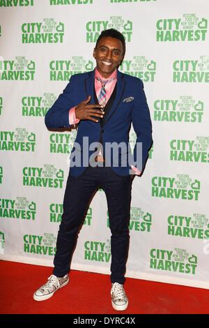New York, NY, USA. 24th Apr, 2014. Marcus Samuelsson at arrivals for City Harvest 20th Annual An Evening of Practical - Stock Photo