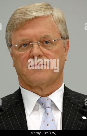 Werner Wenning Bayer Ag Stock Photo, Royalty Free Image ...