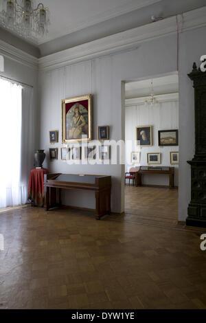 Interior of the State Museum of Art, Baku 2008 - Stock Photo