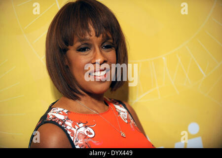 New York, NY, USA. 25th Apr, 2014. Gayle King attends Variety's Power of Women: New York lunch at Cipriani 42nd - Stock Photo