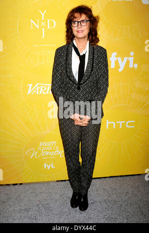 New York, NY, USA. 25th Apr, 2014. Susan Sarandon attends Variety's Power of Women: New York lunch at Cipriani 42nd - Stock Photo