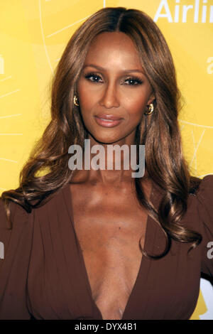 New York, NY, USA. 25th Apr, 2014. Iman attends Variety's Power of Women: New York lunch at Cipriani 42nd Street - Stock Photo