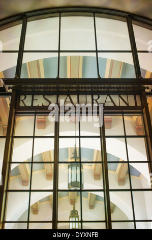 Union Station Restaurant, Los Angeles, United States of America - Stock Photo