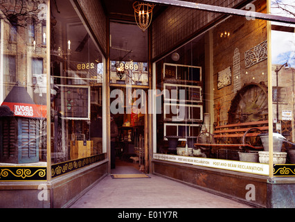 Antique Vintage Furniture Store In Barri Gotic Old Town Barcelona Stock Photo Royalty Free