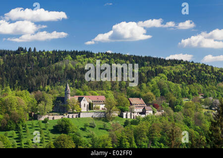 benedictine abbey of lorch rems valley baden wuerttemberg germany stock photo royalty free. Black Bedroom Furniture Sets. Home Design Ideas